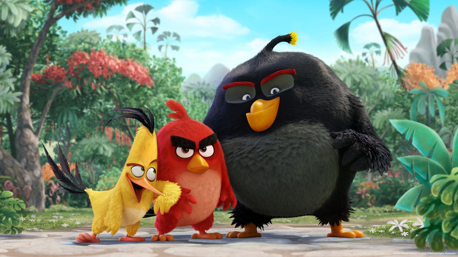 movie angry birds