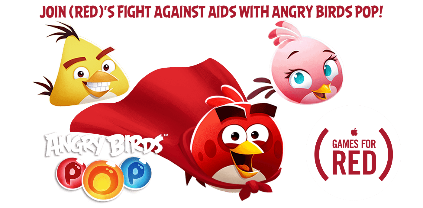Angry Birds POP (RED)