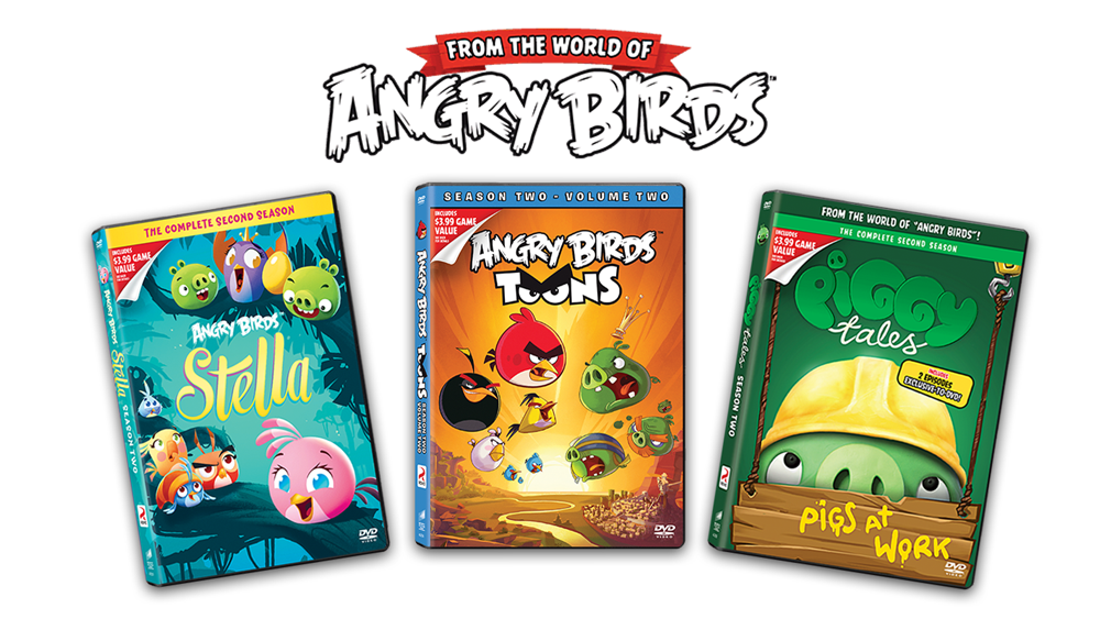 Angry Birds Toons Characters Eggs By Brunomilan13 On: New Toons DVDs Now Available!