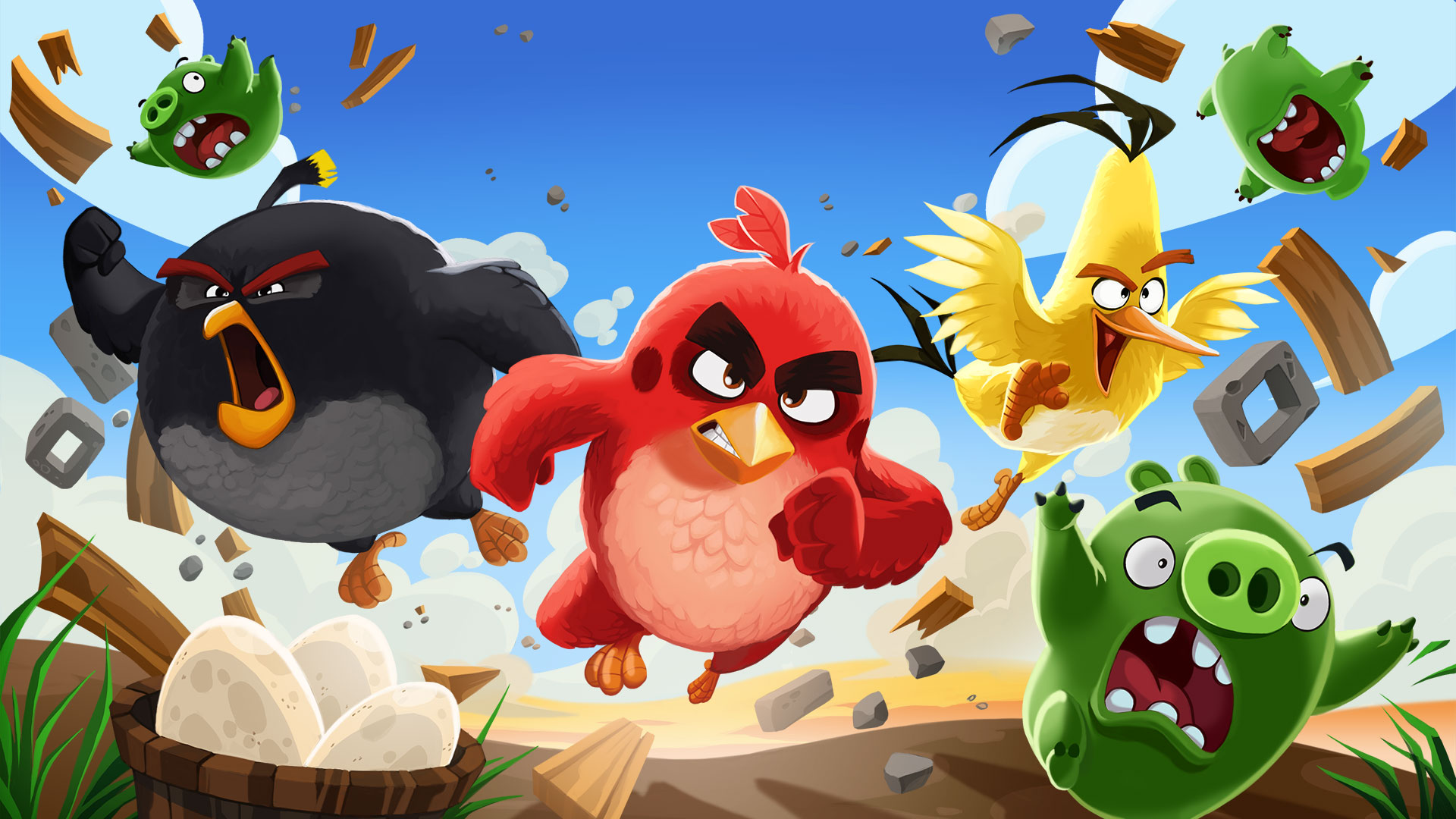 "The ""Angry Birds"" (AB) series – Rovio Entertainment"