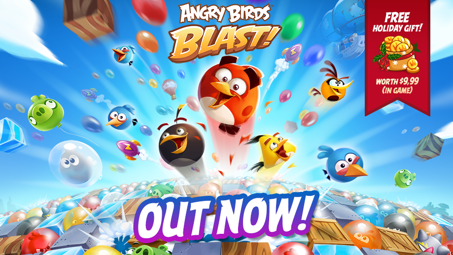 Angry Birds Blast out Now! Claim your free gift!
