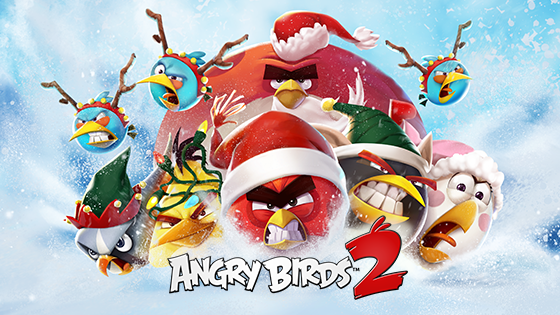 It's the most wonderful time of the year to play Angry Birds ...