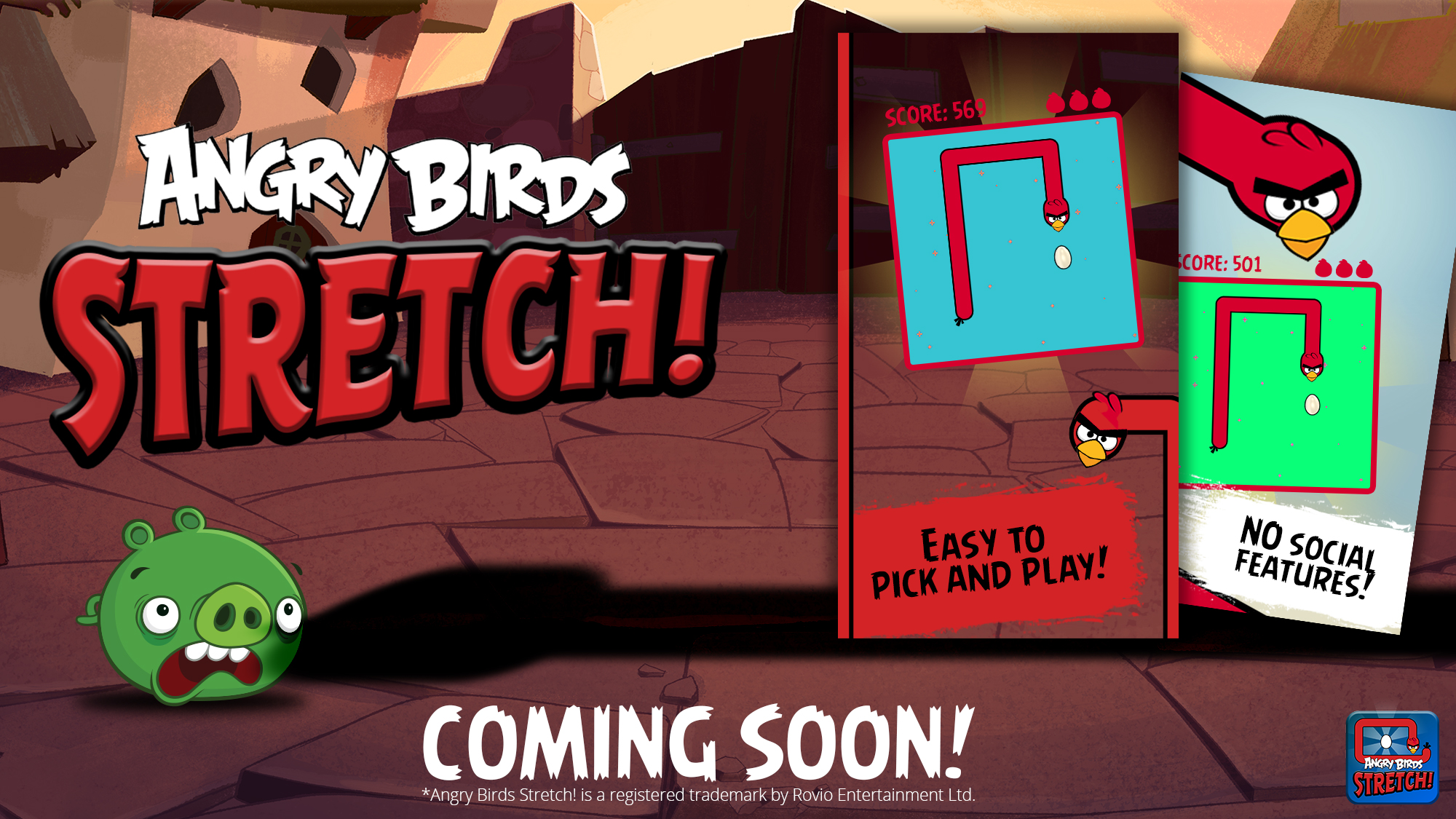 Angry Birds Stretch!