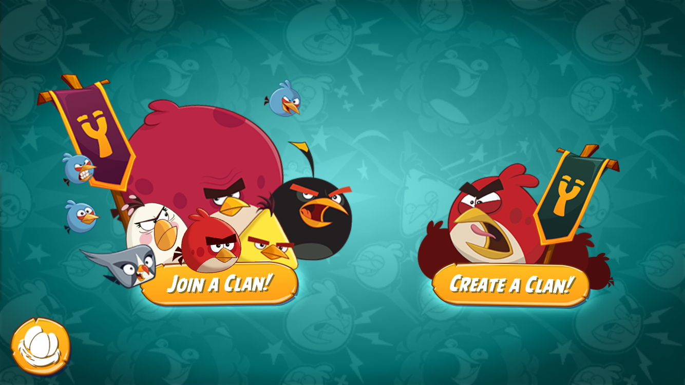 Angry Birds 2 Clans: take on epic challenges together