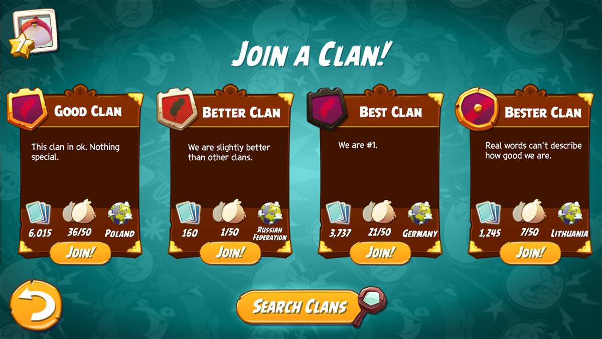 Choose a clan.