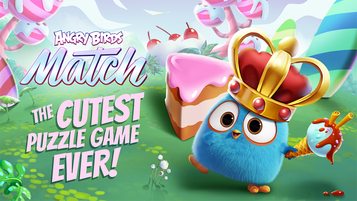 Angry Birds Match. The cutest puzzle game ever!